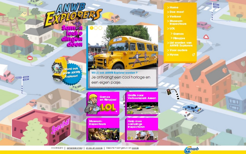 interactieve website voor kinderen | Your IT-Solutions, full service internetbureau